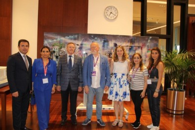 Participants of the International Forum of Architects visited Baku White City