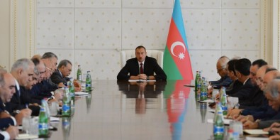 President Ilham Aliyev chaired a meeting of the Cabinet of Ministers dedicated to the results of socioeconomic development in the first half of 2015 and objectives for the future