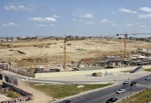 The contaminated land is being exported from the territory of Baku White City project