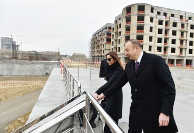 President Ilham Aliyev viewed works carried out in Baku White City