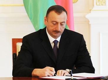 Распоряжение Президента Азербайджанской Республики о дополнительных мерах по продолжению проектов реконструкции систем водоснабжения, канализации и дождевых вод в Baku White City