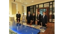 The delegation of the Embassy of France in Azerbaijan visited the office of Baku White City.