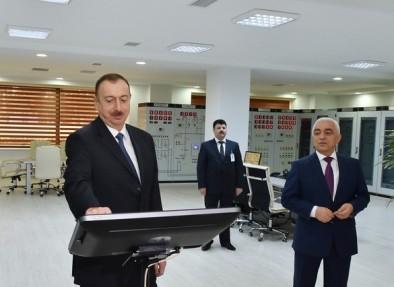 Президент Ильхам Алиев принял участие в открытии электрической подстанции «Ağ şəhər-1»