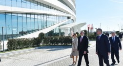 Opening of Baku White City Office Building