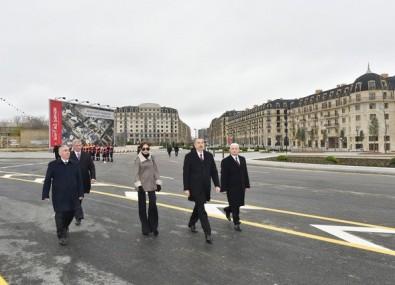 President Ilham Aliyev viewed works done in Baku White City