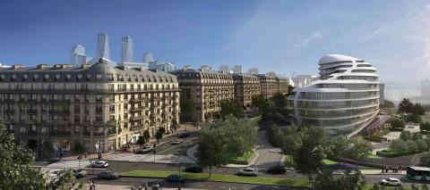 Klassik Paris üslubunda bina