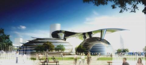 Sahilyanı müasir incəsənət pavilyonu