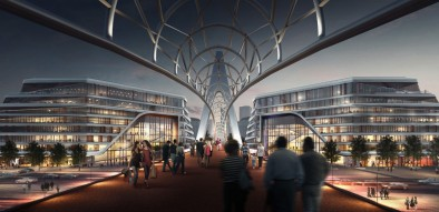 Pedestrian bridge to become next landmark of Baku White City