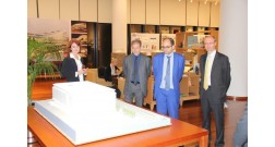 A delegation from the ministry of territorial cohesion of France visited Baku White City