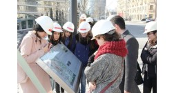 Baku White City receives students of the University of Architecture and Construction for internship