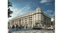 The construction of the next building started within Baku White City project.