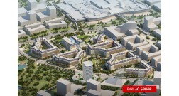 A park is being improved within the framework of Baku White City project