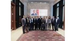 The delegation if Dubai Trade Mission visited the office of Baku White City project
