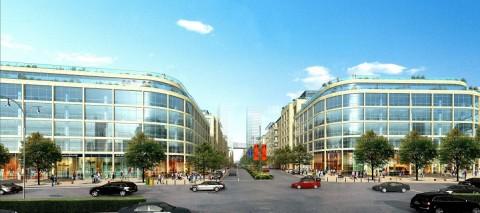 От Проспекта Бабека к Центральному Деловому Району
