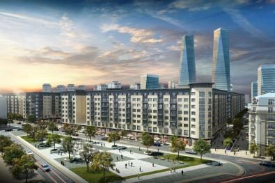 Завершаются работы на Площади Карабахских Скакунов Baku White City