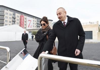 Президент Ильхам Алиев ознакомился с проделанной и предстоящей работой в Baku White City