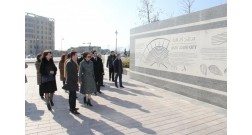 Students of the University of Architecture and Construction will work on probation at Baku White City