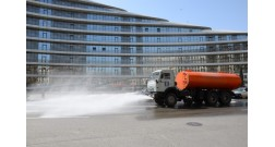 Prophylactic and disinfection measures are strengthened in Baku White City