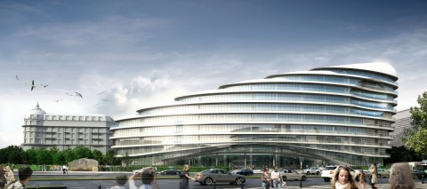 Baku White City Office Building