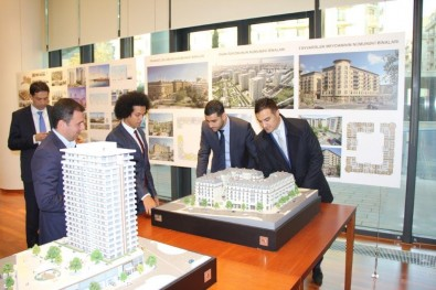 French-Azerbaijani Friendship Group Visits Baku White City Project