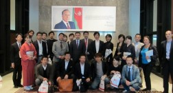 Japaneese delegation visit